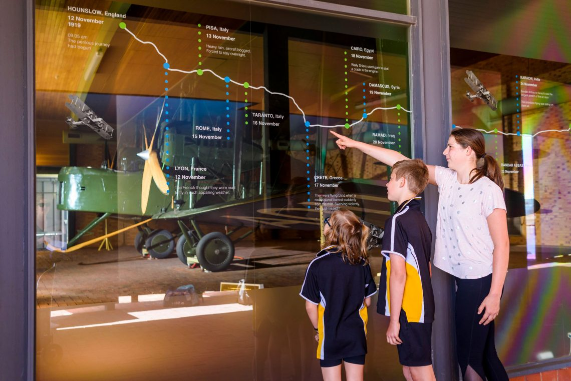 Experience The Vickers Vimy Interactive Trail